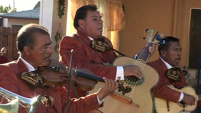 Mariachis in Los Angeles