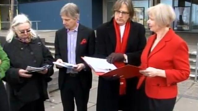 Petition presented to senior Aberystwyth University staff
