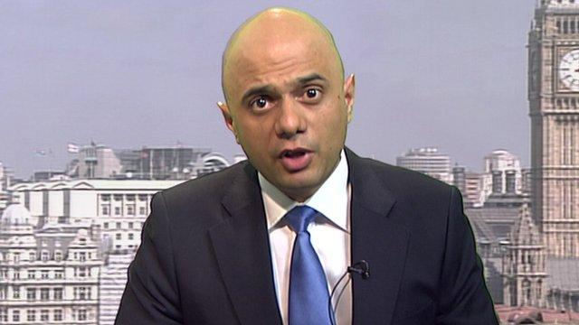The economic secretary to the Treasury, Sajid Javid