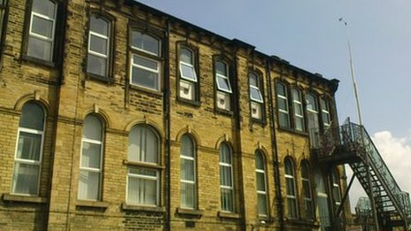A disused NHS ward in Bradford was used in the study to model air flows