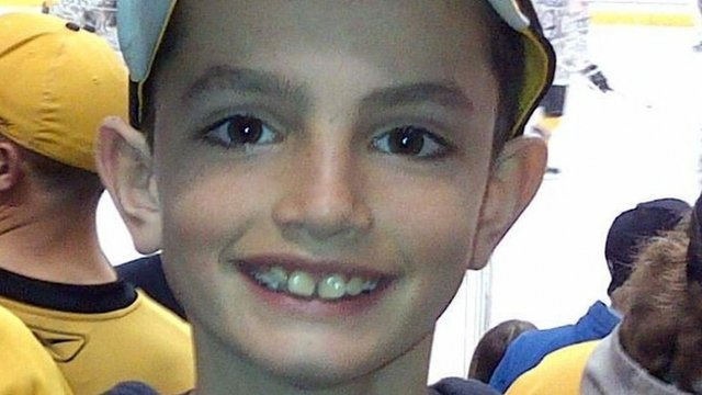 This undated photo provided by Bill Richard shows his son, Martin Richard, in Boston