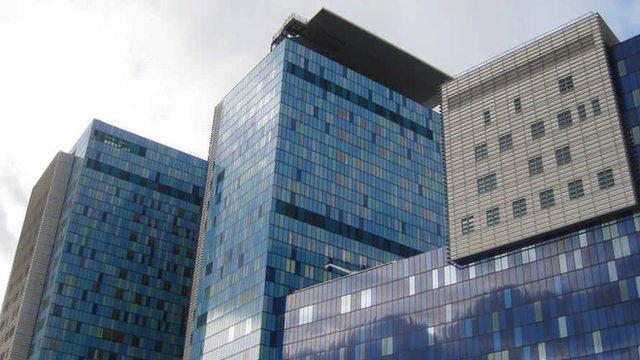 The new Royal London Hospital in Whitechapel, east London