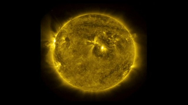 Nasa's timelapse images of the sun