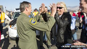 Richard Branson & Mark Stucky