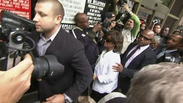 Katherine Jackson arrives in court