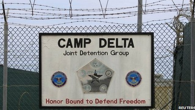 The exterior of Camp Delta is seen at the US Naval Base at Guantanamo Bay. Photo: March 2013