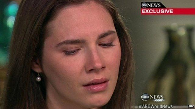 Amanda Knox on ABC