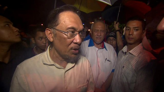 Malaysian opposition leader opposition leader Anwar Ibrahim