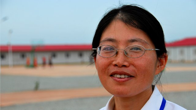 Wang Xianghui is working on a new pipeline bringing offshore gas to Takoradi.