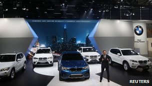 BMW at the Shanghai motor show