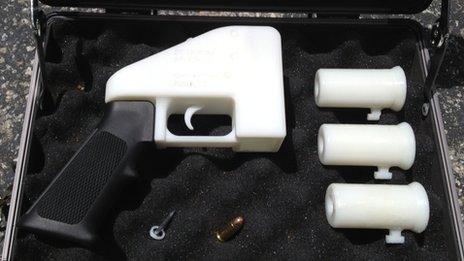 3D-printed gun parts