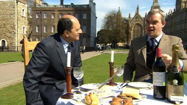 Shailesh Vara and Giles Dilnot