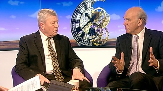 Alan Johnson and Vince Cable