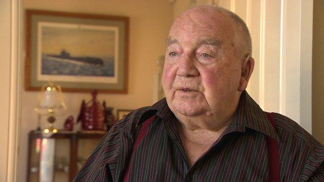 Derek Traylen, Battle of the Atlantic Veteran