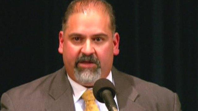 Prosecutor Victor Perez