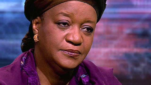 UN special representative on sexual violence in conflict, Zainab Bangura