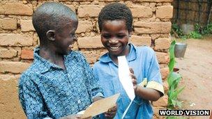 Ulemelero and Davis in Malawi