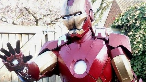 Iron Man suit made by teenager Archie