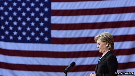 Hillary Clinton in 2008