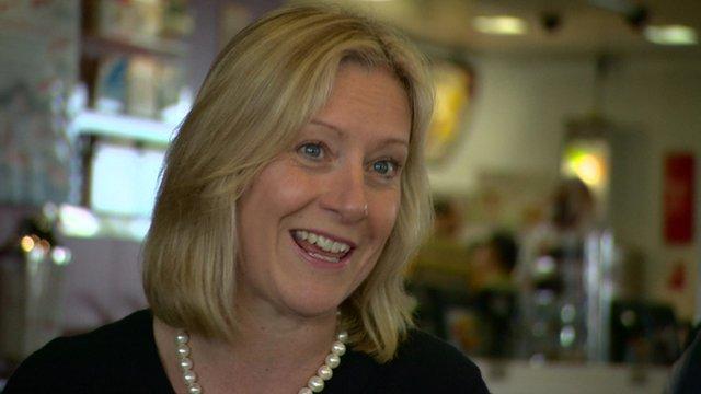 McDonald's UK chief executive Jill McDonald