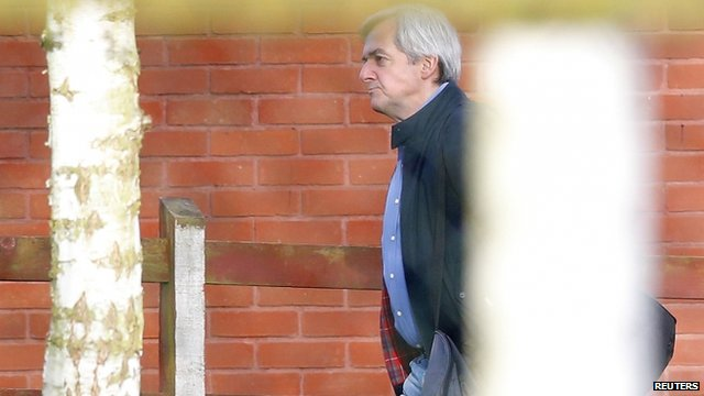 Chris Huhne leaves prison