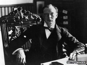 Winston Churchill in 1904