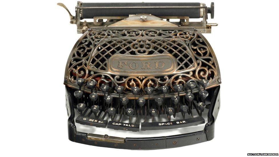 Ford typewriter