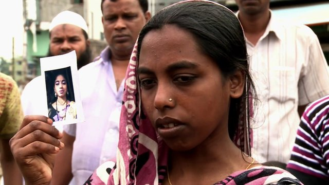 Relatives still hope to find survivors of Bangladesh factory collapse