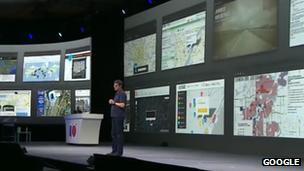 Google Maps presentation