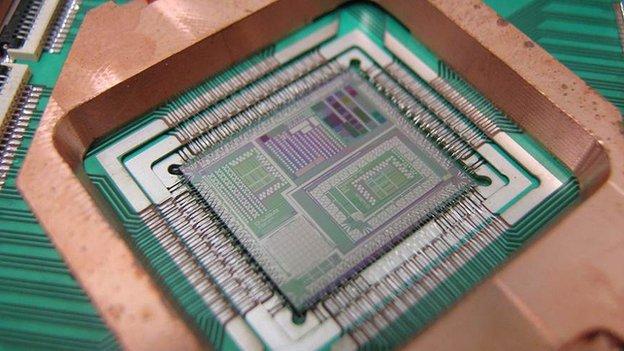 Il computer a qubit della NASA