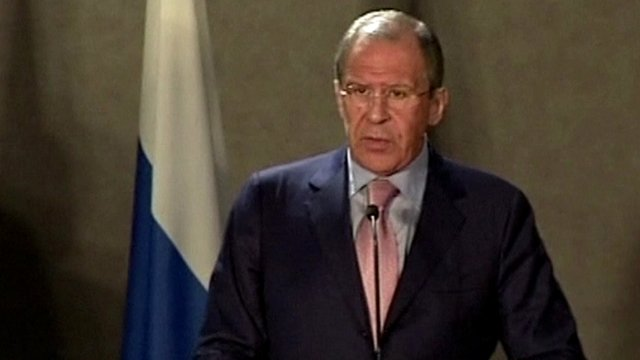 Russian Foreign Minister, Sergei Lavrov