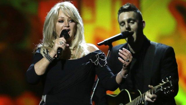 Singer Bonnie Tyler