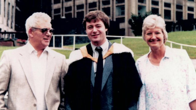Leslie and Doreen Jones and their son Richard