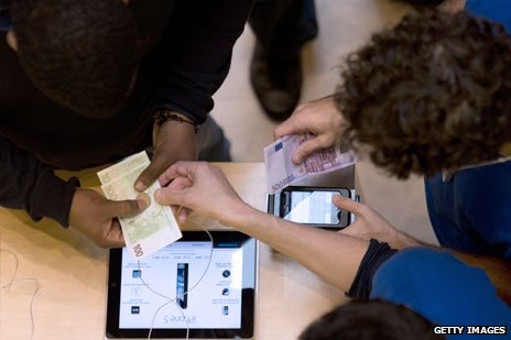 Apple cash register