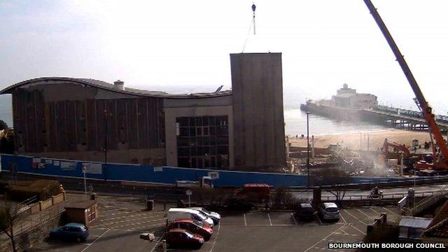 Imax cinema being demolished