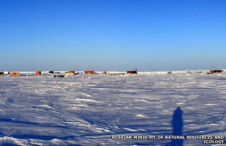 Russian research station North Pole 40 (image: Russian environment ministry)