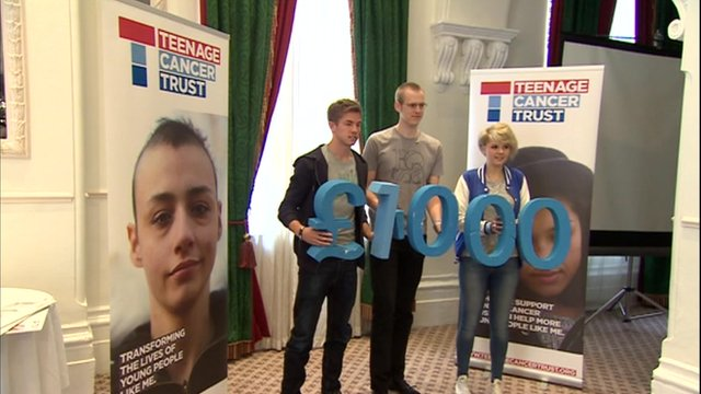 Teenage Cancer Trust launches its appeal to raise £1m for a new cancer centre