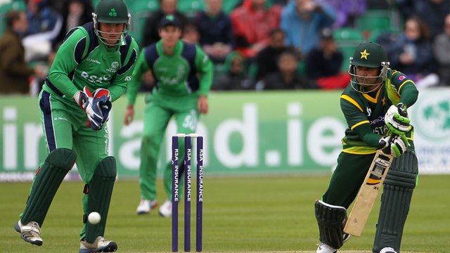 Pakistan's Mohammad Hafeez scored 122 not out off 113 balls