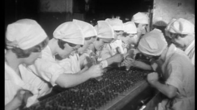 Workers at the York Cocoa Works