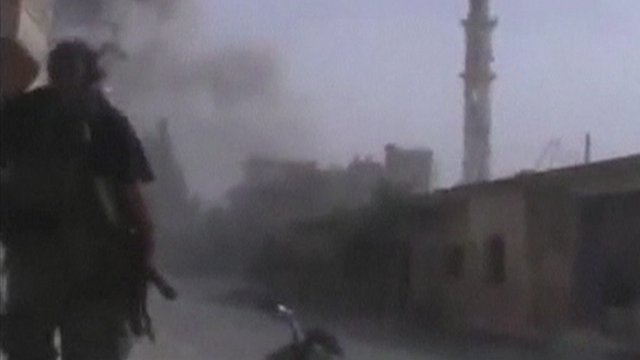 Unverified footage shows fighting in Qusair