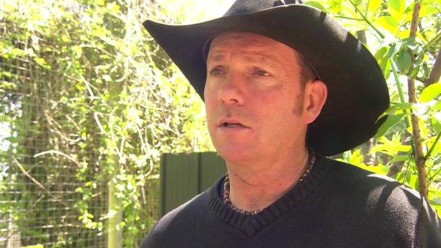 Park owner David Gill