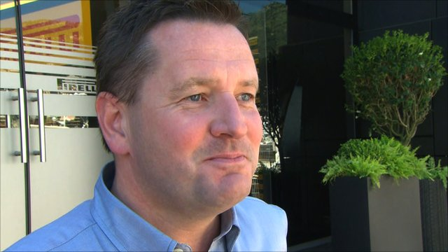 Pirelli Motorsport Director Paul Hembery