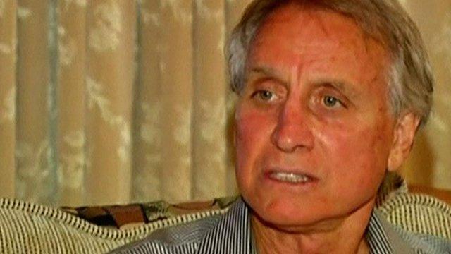 Ron Martin, husband of Angelina Jolie's deceased aunt, Debbie