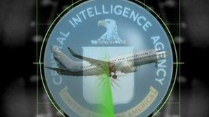 CIA aircraft graphic