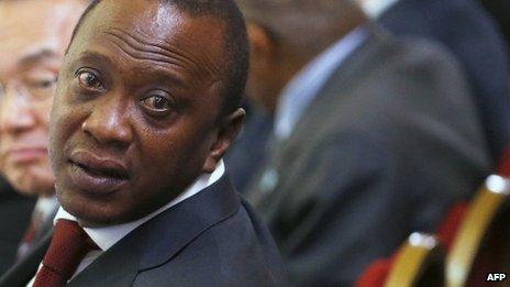 Uhuru Kenyatta - May 2013