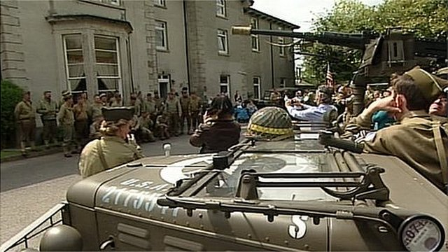 American soldiers remembered in Tavistock