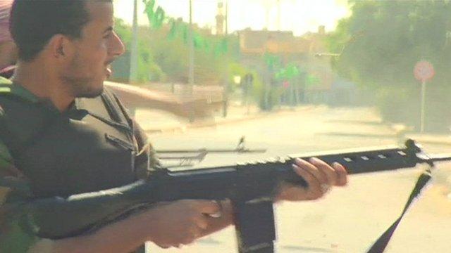 Syrian rebel fighter