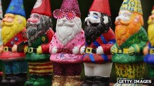 Chelsea Flower Show gnomes