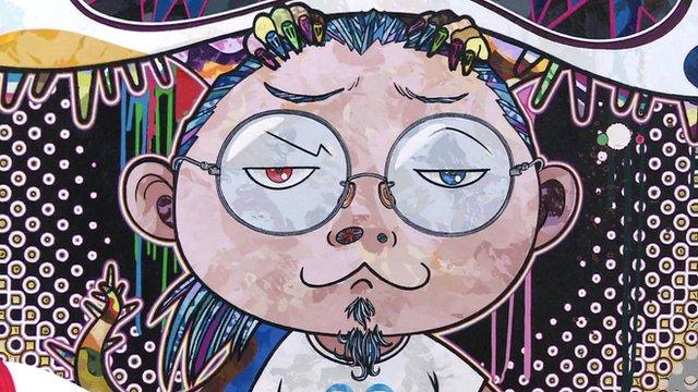Takashi Murakami's alter-ego, Mr Dob