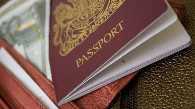 British EU European Union Passport
